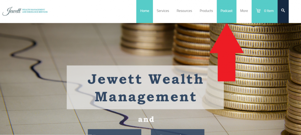 listen to podcasts on jewettwealth